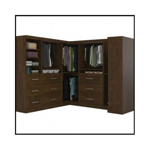 Wardrobe-Closet-Armoire-Wood-Modern-Shoe-Corner-Bedroom-Furniture-Walkin-Clothes