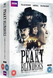 Peaky Blinders: The Complete Series 1-3, DVD