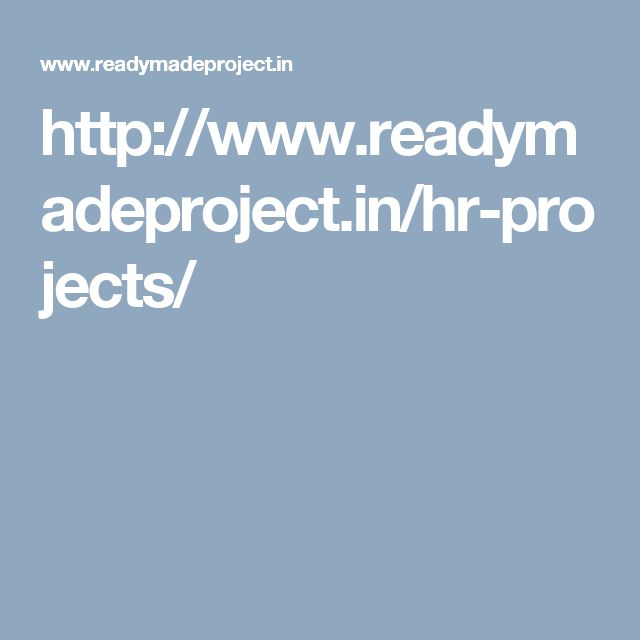 http://www.readymadeproject.in/hr-projects/