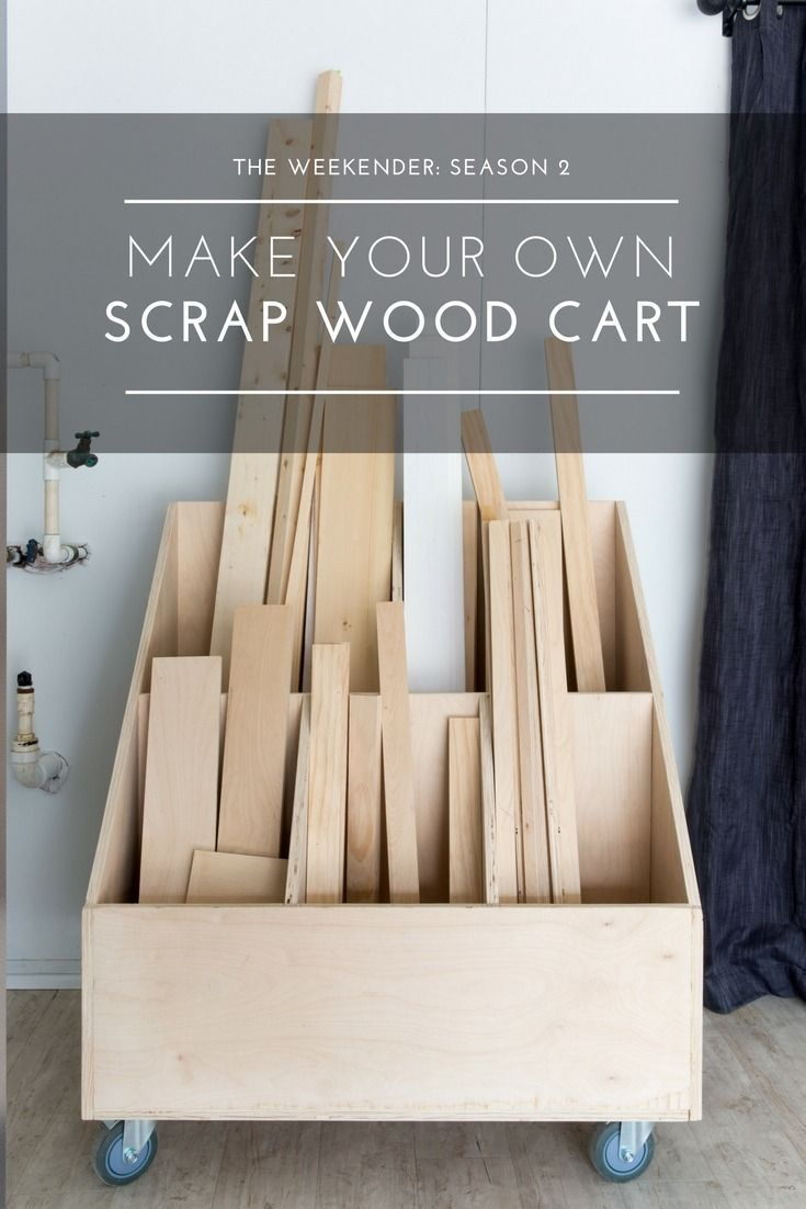Keep Your Woodworking Shop Ship Shape With A Diy Scrap Wood