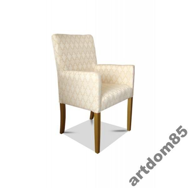 Nowoczesny Fotelik,Fotel wąski wys. 98 cm
