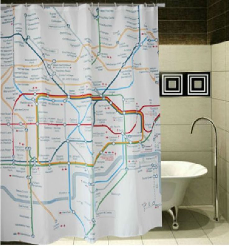 LONDON Subway Map Underground Cool Design 178x178cm