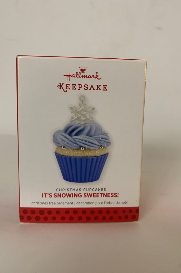 Hallmark Keepsake Ornament dated 2013. Christmas cupcake ...