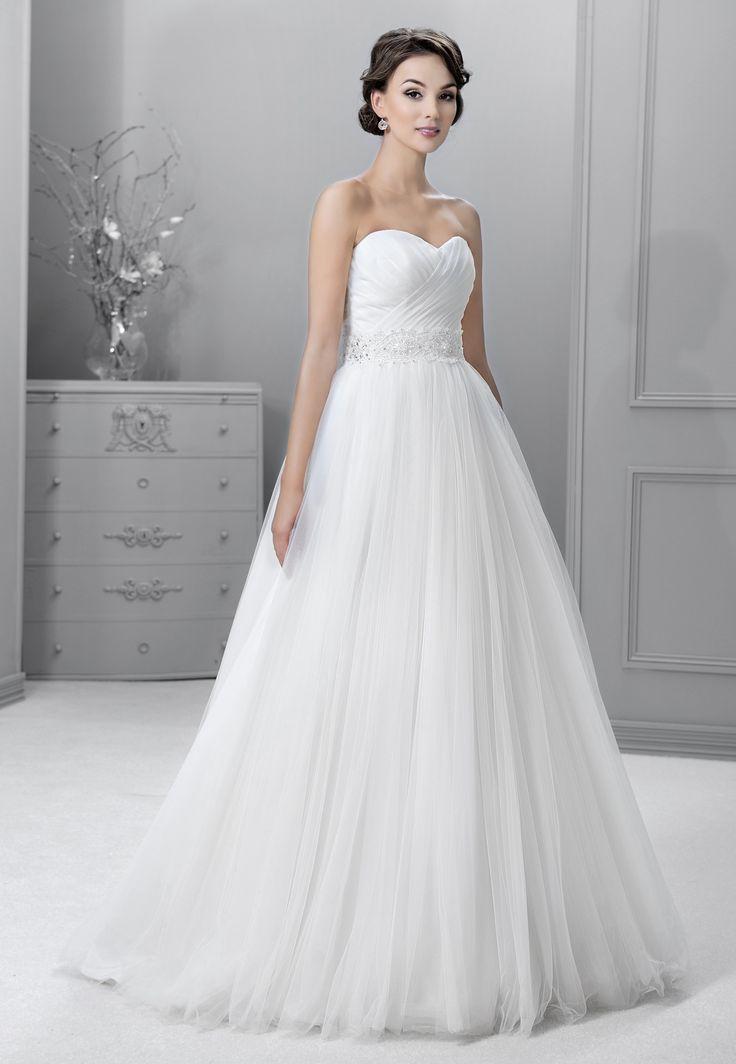 svatební šaty tylová sukně Agnes 14157