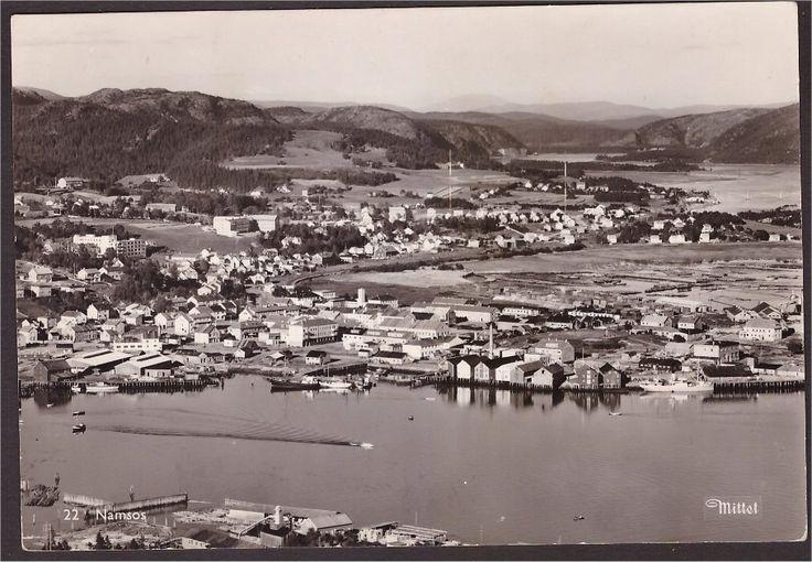 Nord-Trøndelag fylke Namsos. Utg Mittet