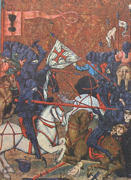 November 27, 1095: Pope Urban II Orders First Crusade    On this day in 1095, Pope Urban II gave rise to the Crusades by calling all Christians in Europe to wage war against Muslims in order to reclaim the Holy Land. Pope Urban'sbrutal and bloody warwas the first of seven major military campaigns, known as the Crusades,fought over the next two centuries.