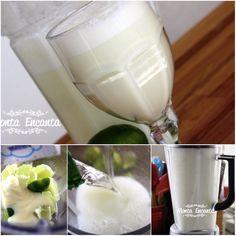 Para refrescar do calor, nada mais gostoso que uma deliciosa Limonada Suíça geladinha, gostosa e pronta em 5 minutos. Suco de limão, batido no liquidificador, com leite Condensado fica espumante, branco lindo. Equilíbrio perfeito entre o azedinho do limão e o docinho do leite condensado. http://www.montaencanta.com.br/bebidas/limonada-suica-com-leite-condensado/