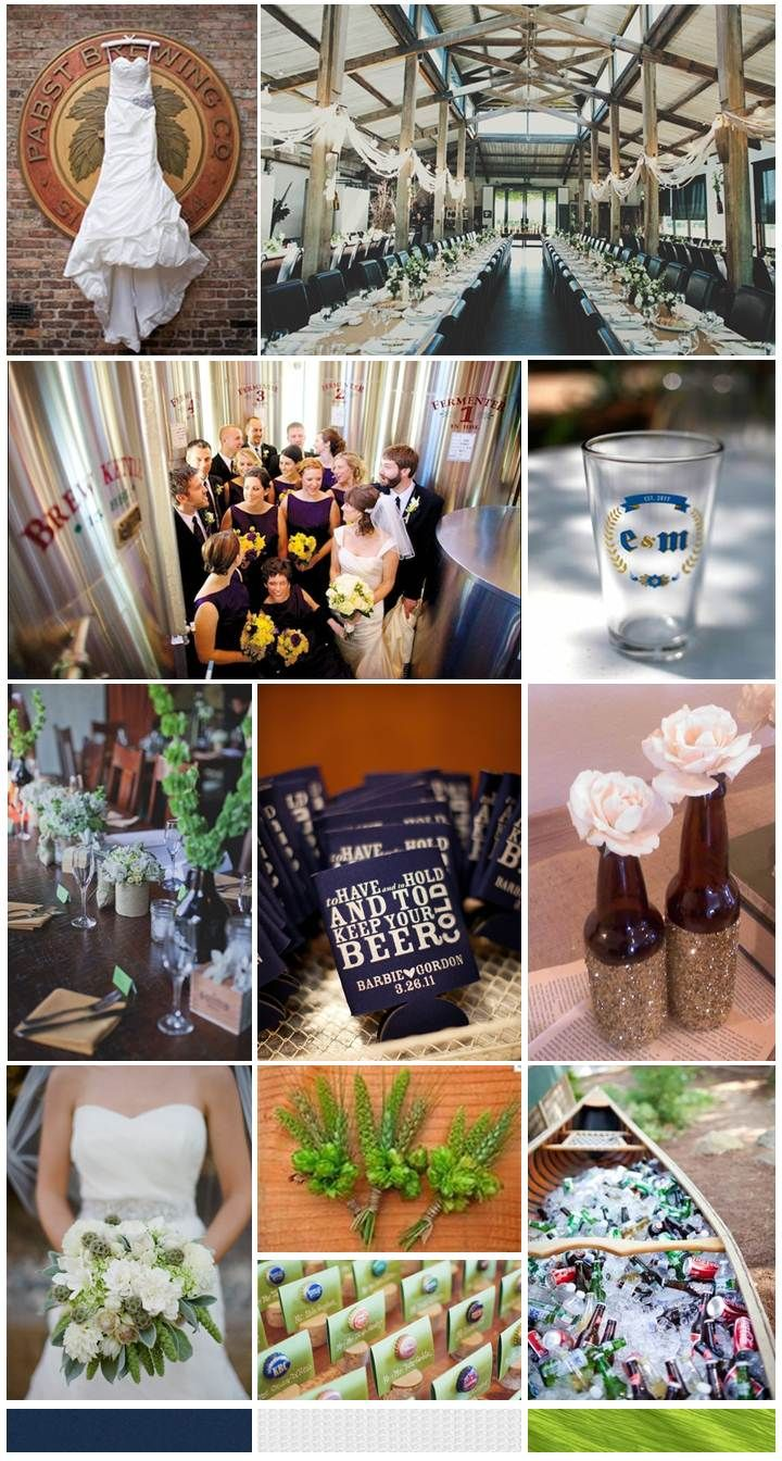 {Design Dish} The Simplifiers create a wedding inspiration board for the beer lovers out there. http://thesimplifiers.com/
