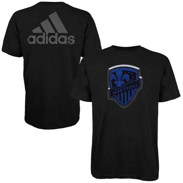 Montreal Impact adidas Light Up T-Shirt - Black - $13.91