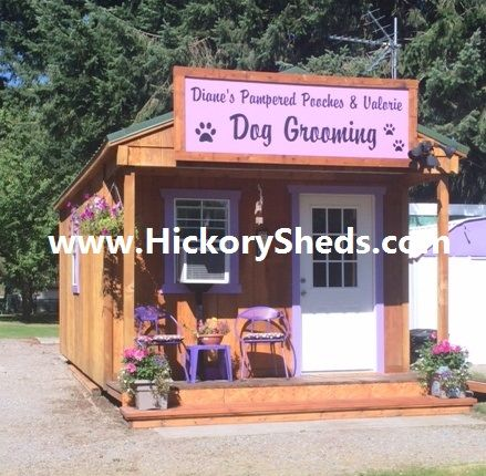 Converting A Shed Into A Dog Grooming Salon