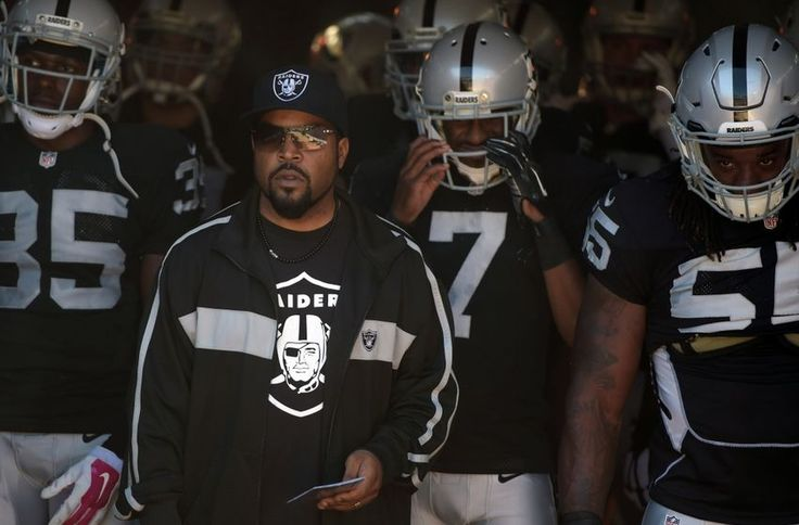 Ice Cube Bringing out Oakland Raiders                                                                                                                                                     More