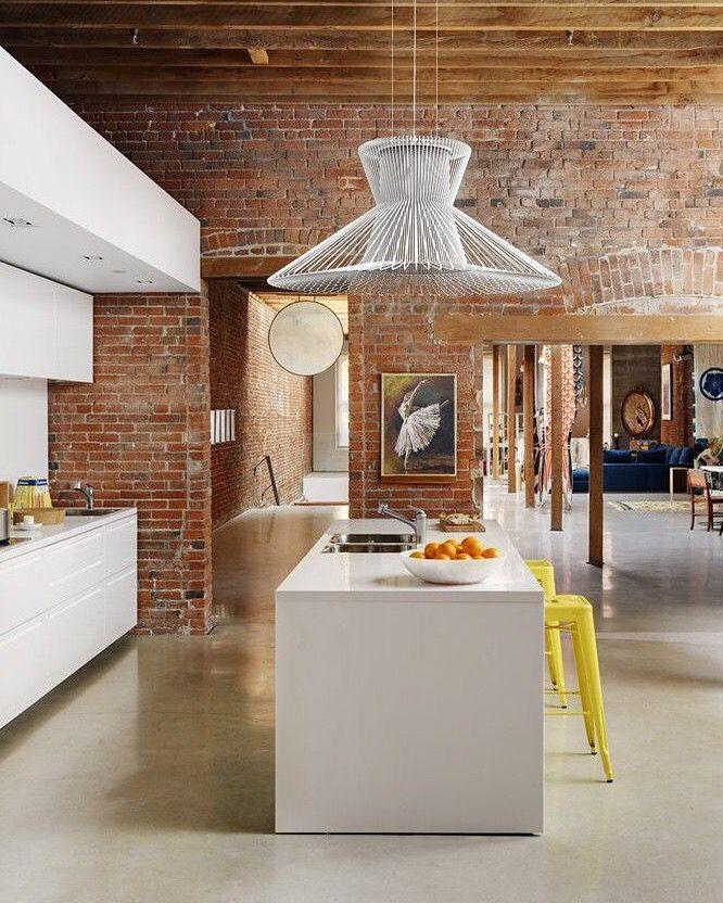 Rustic Open Plan Kitchen: 327 Best Images About COCINAS Con Isla O Desayunador On