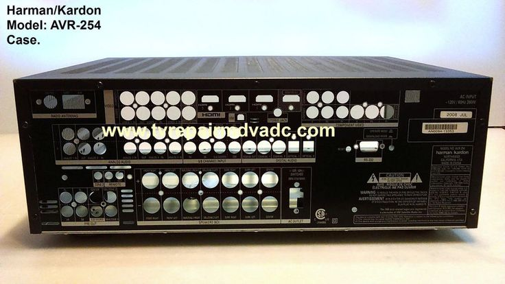 Harman Kardon AVR-254. Receiver Complete Case Assembly Only. Important News #HarmanKardon