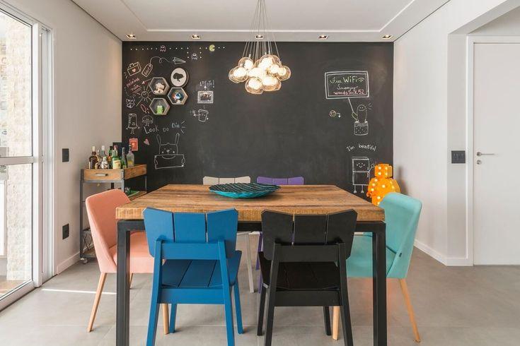 +50 exemplos de salas de jantar: inspire-se para decorar o seu   – Minimalista