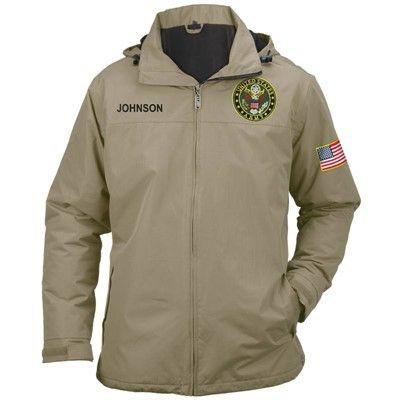 Personalized U.S. Army All Weather Jacket - 5632-0013