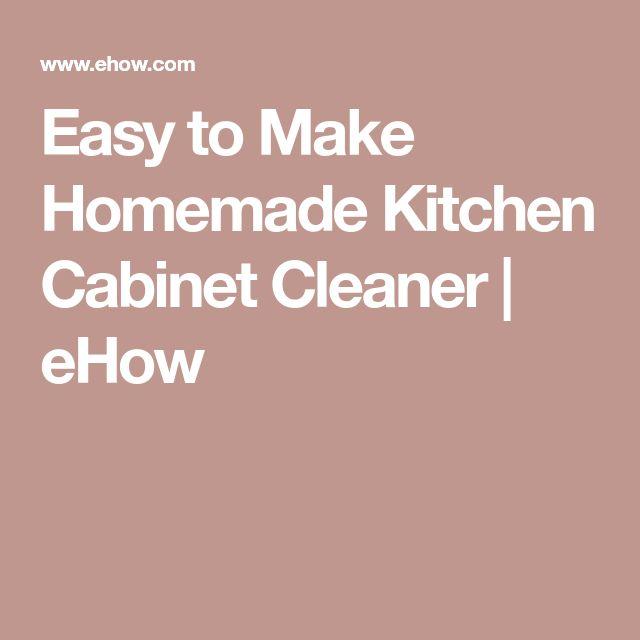 Best 25 Wood Cabinet Cleaner Ideas On Pinterest Cabinet