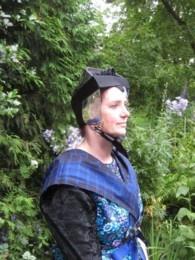 Mattie Stegeman in klederdracht juni 2009 [4]