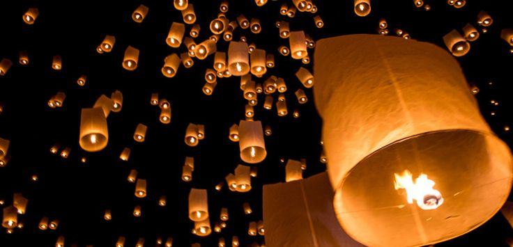 Yee Peng in Chiang Mai - Tips and Tricks for THE lantern festival