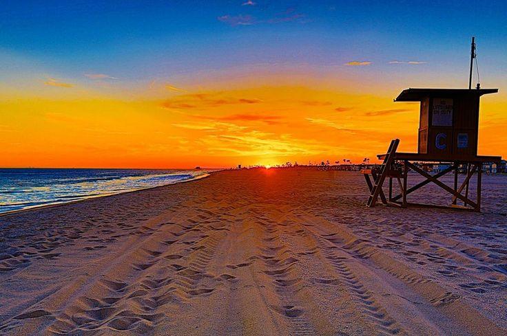 Sunset at California Newport Beach | Sunsets | Sunset ...