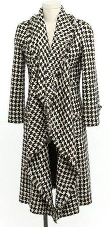 Chanel Houndstooth Coat - Roll Tide!