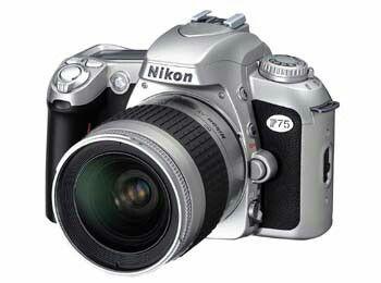Nikon F75 - Ano: 2003