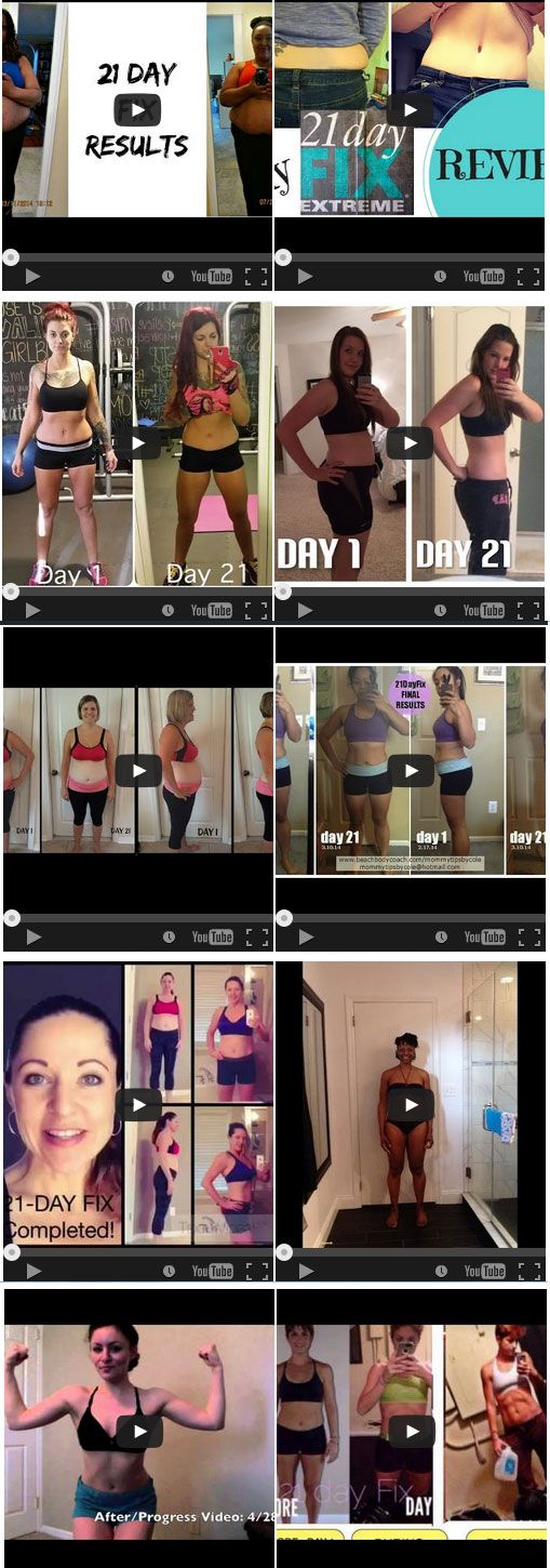 Beach Body 21 Day Fix Reviews ask me how you can get similar results in 21 days!