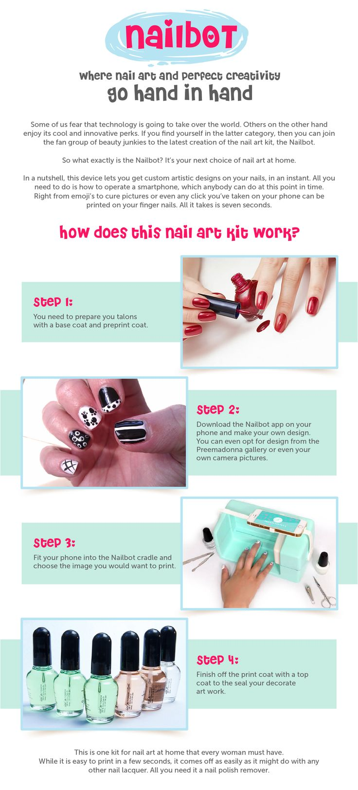 Lovely How To Do Your Own Nails Designs At Home Photos - Home ...