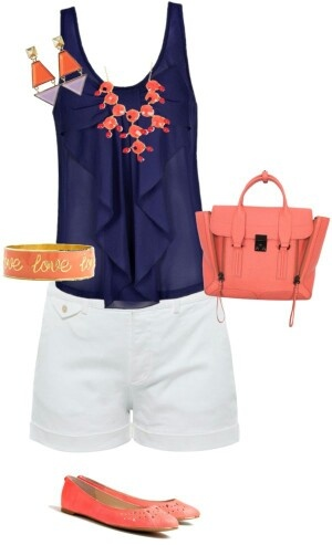 28 Best Images About Color Combinations Navy Amp Coral On
