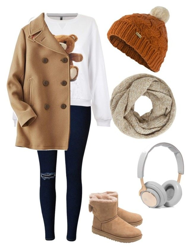 """Untitled #12"" by raven-blackk on Polyvore featuring Moschino, Uniqlo, UGG, Barbour, John Lewis and B&O Play"