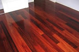 high gloss jarrah floorboards...love!