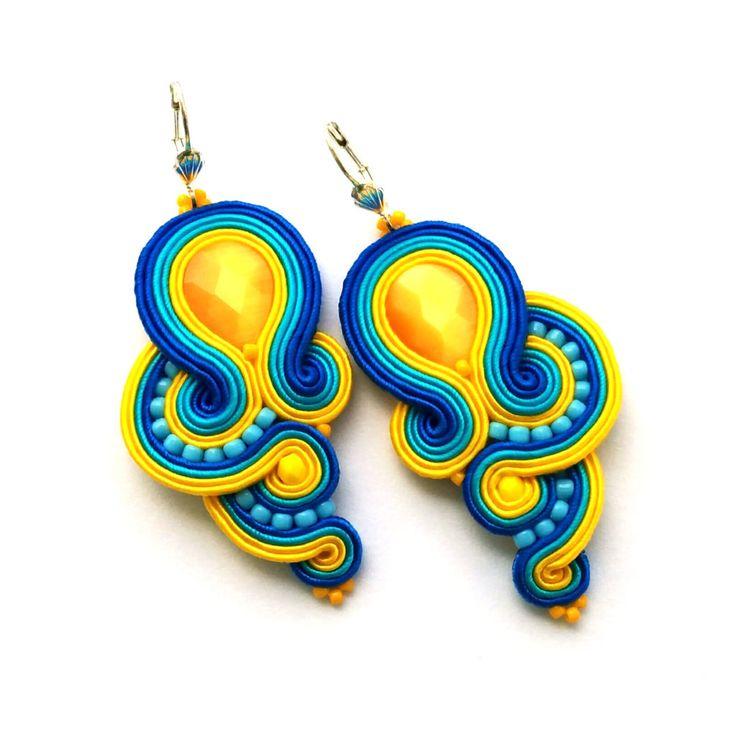 soutache-earrings-wholesale-earrings-handmade-earrings-turquoise-yellow-earrings-02