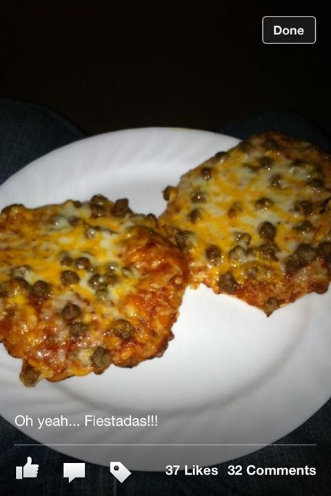 Fiestada pizza takes me back to my school days! Bring these back in my life NOW!