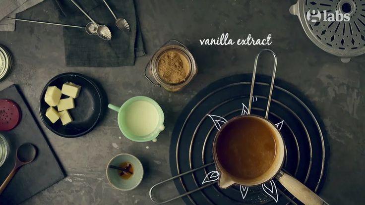 Butterscotch Pop Corn Sundae - The Guardian / Animated Recipe on Vimeo