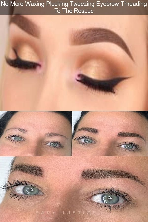 How To Pluck Eyebrows | Men'S Eyebrow Threading | How ...