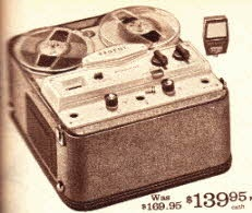 3 speed Tape to Tape Recording Deck ~ $139.95