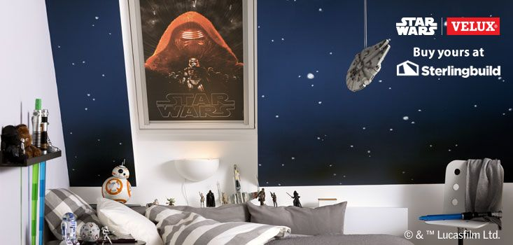 Star Wars & VELUX Galactic Night Collection at Sterlingbuild: 4712 Kylo Ren http://ow.ly/VXIMx