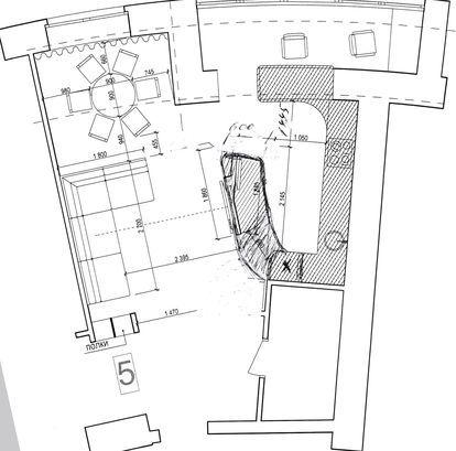 """Дизайн интерьера, 3d визуализация - Проект """"Интерьер кухни"""""""