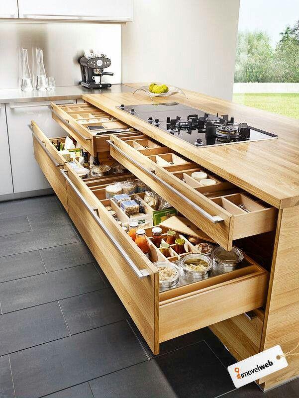 Organizadores para cocina kitchen pinterest le 39 veon for Ikea organizador cajones cocina