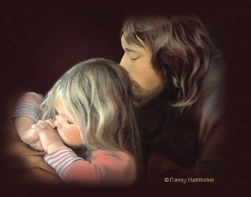 Jesus: Little Children, Prayer, A Kiss, Little Girls, Jesus Christ, Danny Hahlbohm, Christian Songs, Christian Life, Jesus Love