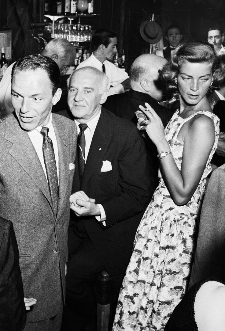 Lauren Bacall, Franks Sinatra