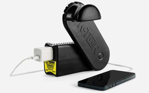 Boost Battery Life Without an Outlet Using the K-TOR Pocket Socket 2 trendhunter.com