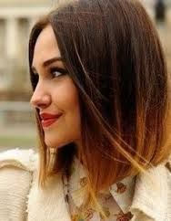 image result for cheveux ombr - Tie And Dye Sur Cheveux Colors