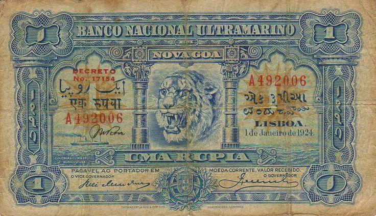 portuguese money | indo portuguese 30 escudos observe indo portuguese 30 escudos reverse