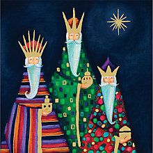 Buy Special Editions Foiled Three Kings Cards, Pack of 8 Online at johnlewis.com