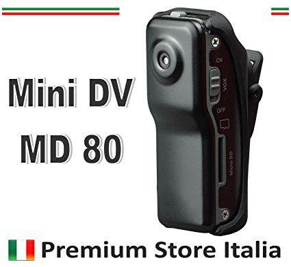 Sport Mini DV 80DVR caméra de Premium Store Italia