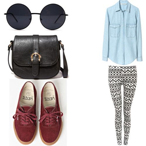 Would be cute with moccasins too :) Bethany Mota style!