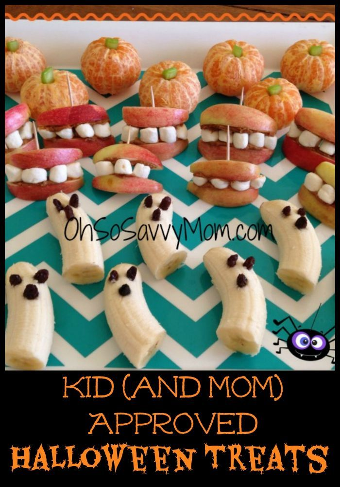 Kid and Mom Approved Healthy Halloween Treats.