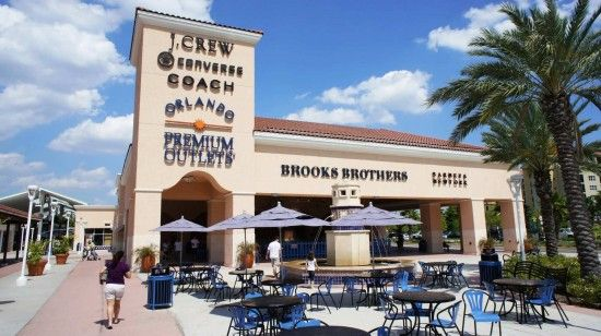 Orlando Premium Outlets Vineland Ave: Closest outlet mall to Disney World