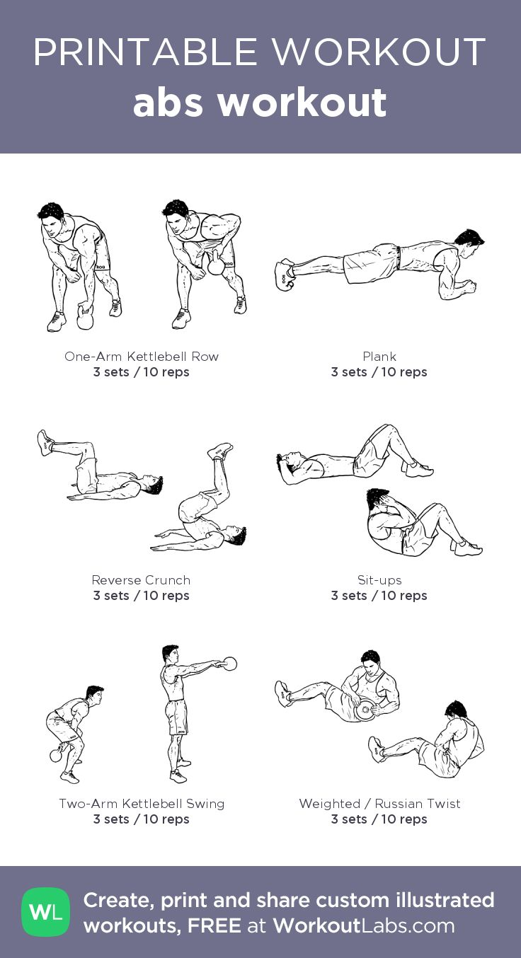 It is a photo of Nifty Printable Exercise Routines